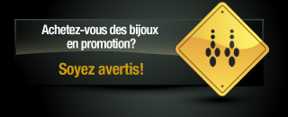 Call-to-action - Bijoux en promotion